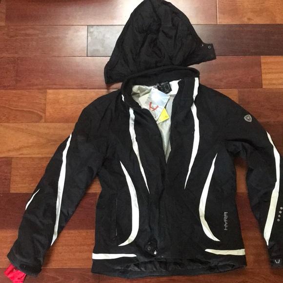 Hyra Jackets & Blazers - NWT HYRA ski jacket with detachable hood